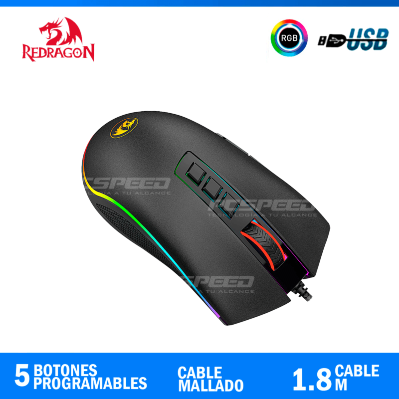 mouse redragon M711 pcspeed
